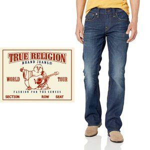 True Religion Billy Bootcut Jeans - 34Wx32L